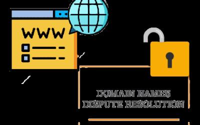 Icann Domain Name Disputes Resolution Policy